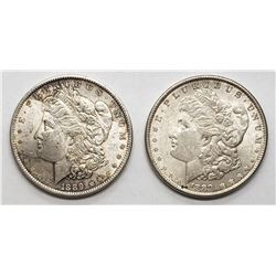 2-1889 XF/AU MORGAN DOLLARS