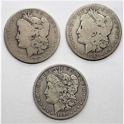1892 P-O-S MORGAN DOLLAR