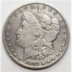 1892-O MORGAN DOLLAR