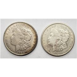 1921 & 1921-S MORGAN DOLLARS