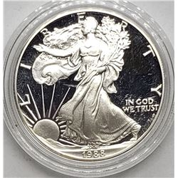 1988 AMERICAN SILVER PROOF EAGLE