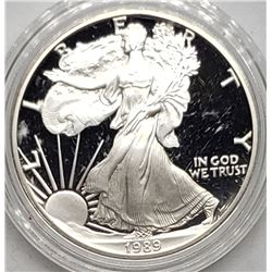 1989 AMERICAN SILVER PROOF EAGLE