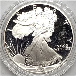 1990 AMERICAN SILVER PROOF EAGLE