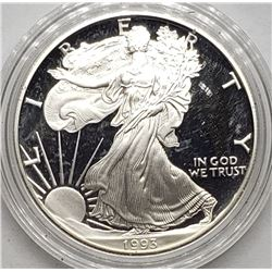 1993 AMERICAN SILVER PROOF EAGLE