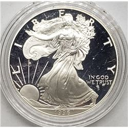 1996 AMERICAN SILVER PROOF EAGLE