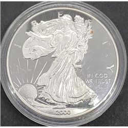 2000 AMERICAN SILVER PROOF EAGLE