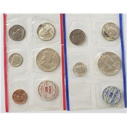 1960 U.S. MINT SET - ORIGINAL CELLO PKS