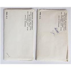 2-1968 U.S. MINT SET - ORIGINAL PACKAGES