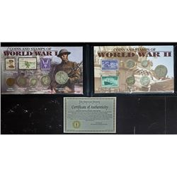 WORLD WAR I COINS & STAMPS COLLECTION
