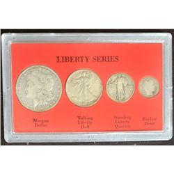 LIBERTY SERIES 4 COIN SET