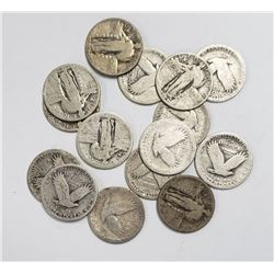 15 - STANDING LIBERTY QUARTERS