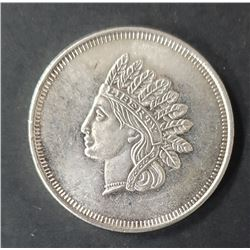 INDIAN HEAD 1ozt .999 SILVER ROUND
