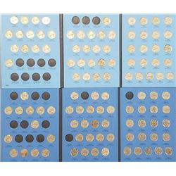 1938-1995 JEFFERSON NICKEL PARTIAL SET