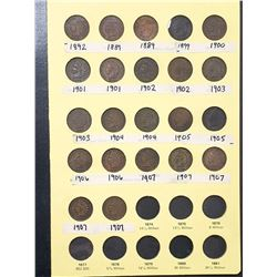 INDIAN HEAD CENT COLLECTION (40 COINS)
