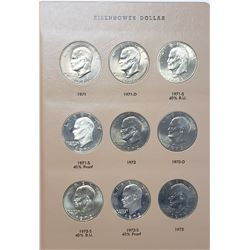 EISENHOWER DOLLAR COMPLETE SET