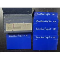 5-1972 U.S. PROOF SETS in ORG MAILER
