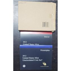 2012 U.S. MINT SET in ORIGINAL PACKAGE