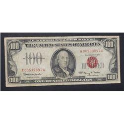 1966 $100 U.S. NOTE FRANKLIN