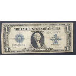 1923 $1 SILVER CERT LARGE SIZE NOTE