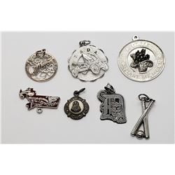 7-STERLING CHARMS - DETROIT TIGERS