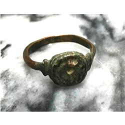 Byzantine Pilgrim's Copper Rich Man's Bronze Artifact Ring