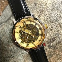 Men's Skeleton Automatic Wristwatch
