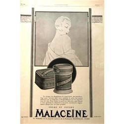 1920's French Magazine Advertisment, Parisian Cosmetics