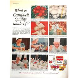 1958 Campbell's Soup Magazine Advertisement