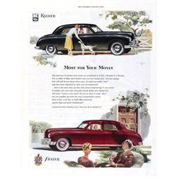 1948 Kaiser & Frazer Saturday Evening Post Ad