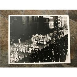 Women's Rights, Early 20thc Suffragette March Photo Print
