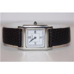 Authentic Tiffany & Co. Swiss Made Quartz Stainless Steel Wristwatch