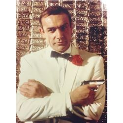 Vintage Color Photo of Sean Connery, James Bond