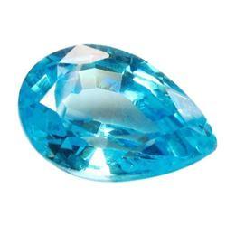 15.92ct Pear Shaped Blue Bianco® Lab Created Diamond