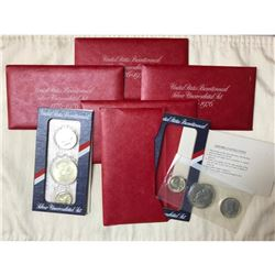 Boxed Collector's Set, US Mint Bicentennial Silver Uncirculated Coins