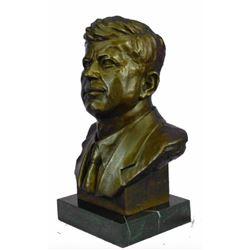 Original Collector Edition Bronze Bust, John F. Kennedy