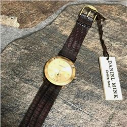 Daniel Mink Swiss Made Stainless Steel Wristwatch