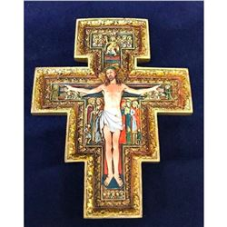 San Damiano Composite Crucifix Cross Ornament