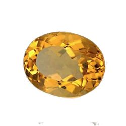 2.34ct Natural Golden Citrine Gemstone