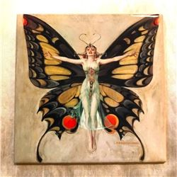 Butterfly Fairy Decorative Ceramic Art Tile