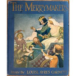 Book The MerryMakers by Louise A. Garnett, Signed 1918