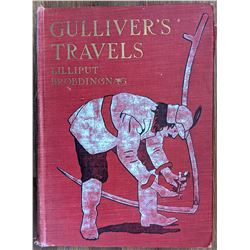 Book Gulliver's Travels by Dr. Jonathan Swift, 1918