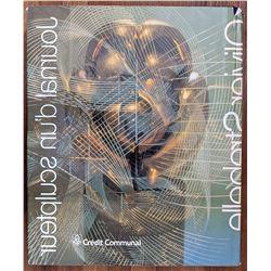 Book Journal D'un Sculpteur Olivier Streabelle Signed