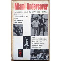 Book  Miami Undercover 1st Edition Novel Evan Lee Heyman