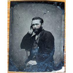 Unidentified Daguerrotype W. VA Gentleman