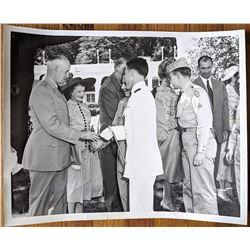 Three Photos President Truman White House Reception