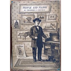 Book 1st Edition People & Pianos Theodore Steinway