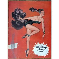 1958 Holiday On Ice Program Risque Cover