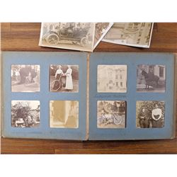 1903 Photo Album 96 photos Bicycles, Wheel Chairs, Autos