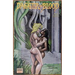 Dagger of Blood Eros Adults Only  Comic Book