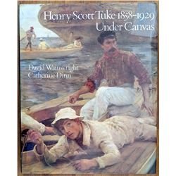 Book Henry Scott Tuke Under Canvas Art Nude